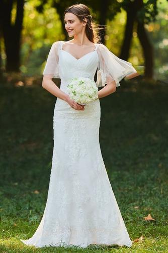 Robe de mariée Col Élisabéthain Appliques Exquisite Taille chute - Page 2