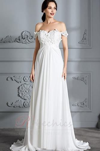 Robe de mariée Épaule Dégagée Jardin Longue taille haut Médium - Page 1
