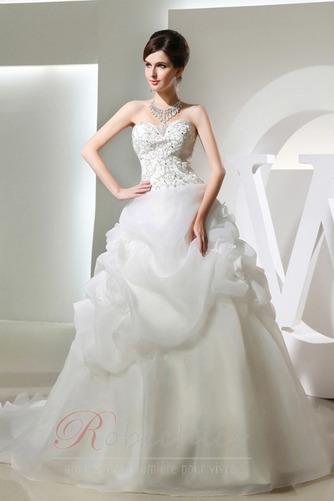Robe de mariée Longue Fourreau Avec Bijoux Printemps Salle a ligne - Page 1