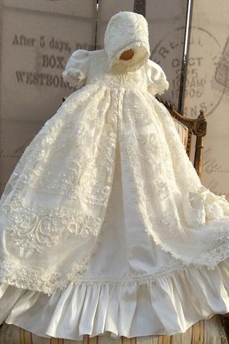 Robe de baptême Manche Courte Formelle Naturel taille Longue Princesse - Page 3