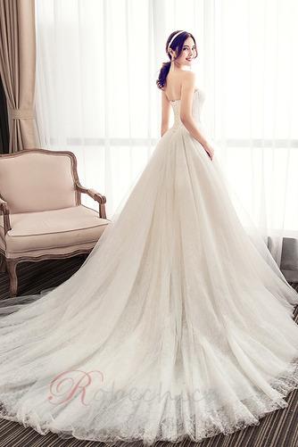 Robe de mariée Bustier A-ligne Automne Chaussez Traîne Moyenne - Page 2