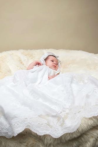 Robe de baptême Princesse Printemps Longue Empire Cérémonial Haute Couvert - Page 2