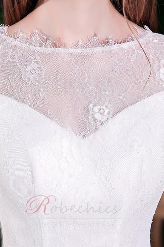 Robe de mariée Elégant Glissière Naturel taille Sirène Longueur Mollet - Page 4