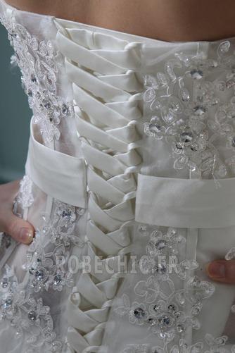 Robe de mariée Satin Élastique Taille chute Dramatique Asymétrique - Page 7