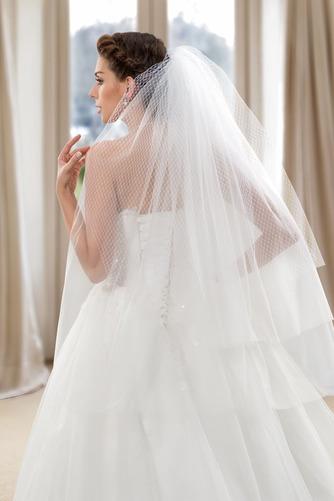 Robe de mariée Dos nu Formelle Longue Tissu Dentelle Sans Manches - Page 7