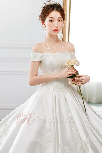 Robe de mariée Cathédrale Épaule Dégagée Broderie Lacet Cérémonial - Page 5
