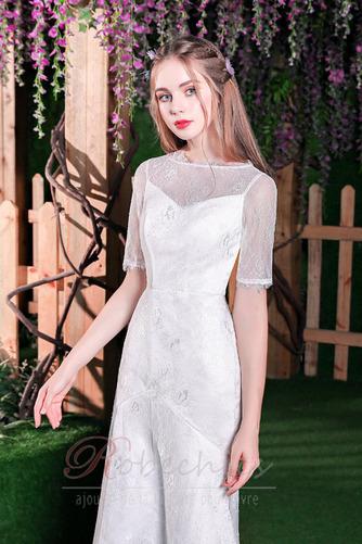 Robe de mariée Elégant Glissière Naturel taille Sirène Longueur Mollet - Page 3